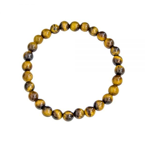 bracelet-oeil-de-tigre-lithothérapie-pierres-naturelles-boules-6mm