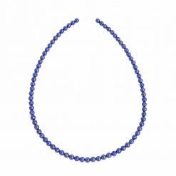 collier en lapis lazuli naturelle en perles de 6 mm