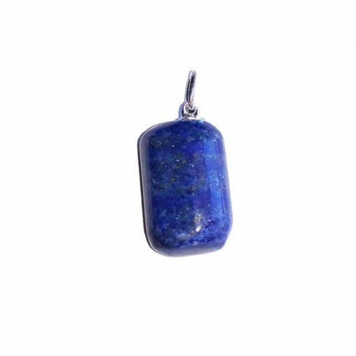 pendentif pierre roulée en lapis-lazuli naturelle