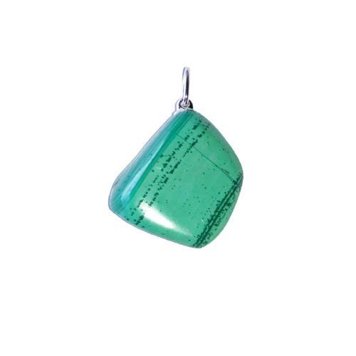 pendentif lithothérapie malachite authentique