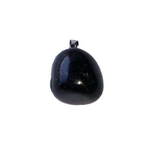 pendentif tourmaline noire pierre roulée naturelle