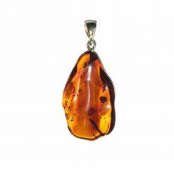 pendentif ambre baltique naturelle