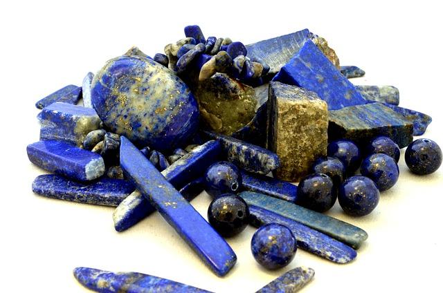 pierres lapis lazuli