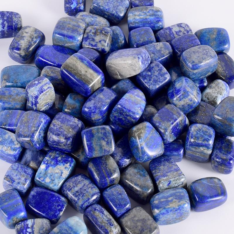 pierres naturelles lapis-lazuli polie