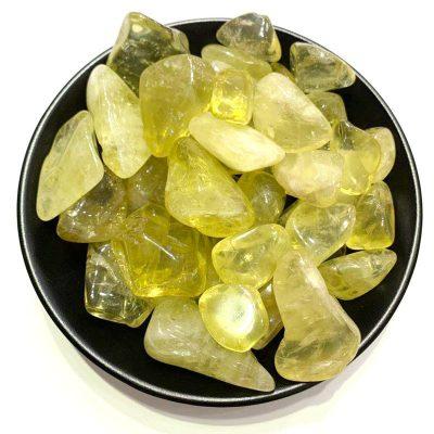 pierres roulées citrine